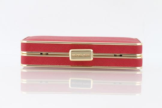 Michael Kors Red Clutch Image 4
