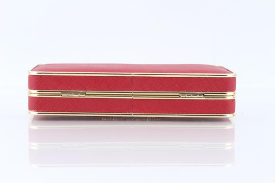 Michael Kors Red Clutch Image 5