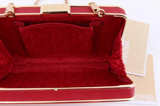 Michael Kors Red Clutch Image 6