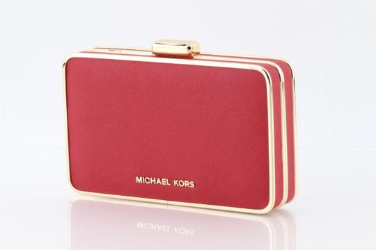 Michael Kors Red Clutch Image 7
