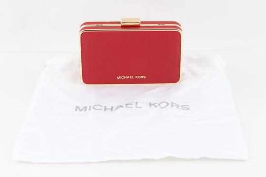 Michael Kors Red Clutch Image 9