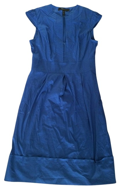 BCBGMAXAZRIA short dress blue (cobalt blue closest description) on Tradesy