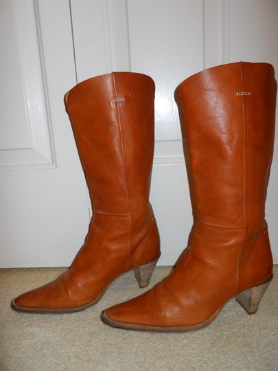 Bellini Leather Western tan Boots Image 1