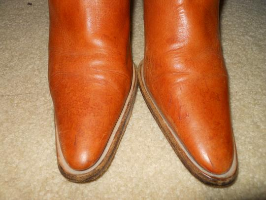 Bellini Leather Western tan Boots Image 4