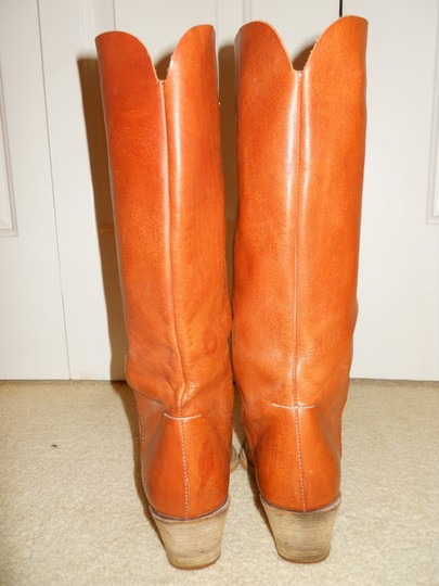 Bellini Leather Western tan Boots Image 5