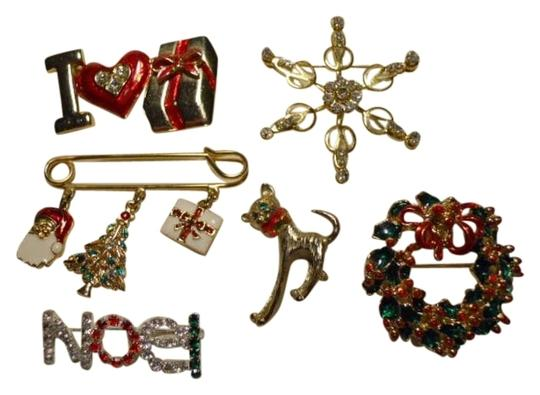 unknown Christmas pin lot