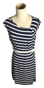 Calvin Klein short dress Navy Blue/White on Tradesy