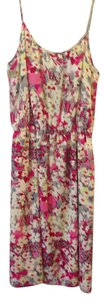 Banana Republic short dress Floral, Pink Summer Floral on Tradesy