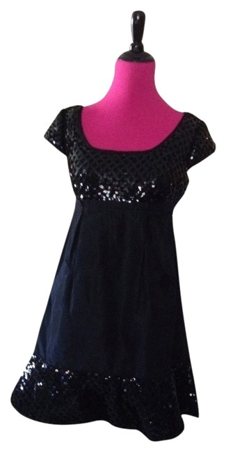 Preload https://img-static.tradesy.com/item/390502/betsey-johnson-black-new-acetate-and-sequins-pockets-party-above-knee-cocktail-dress-size-2-xs-0-0-650-650.jpg