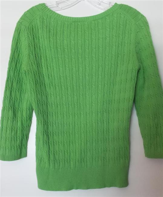Ann Taylor LOFT Cotton Light Cable Like New Sweater