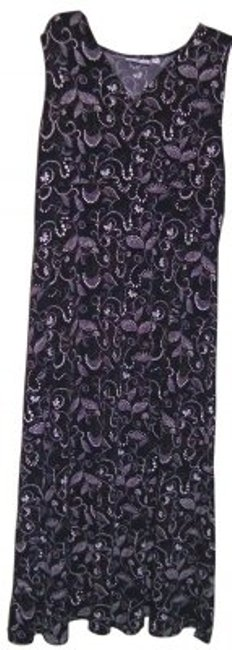 Preload https://item5.tradesy.com/images/croft-and-barrow-blackpurple-very-comfortable-to-wear-to-mid-length-workoffice-dress-size-14-l-39054-0-0.jpg?width=400&height=650