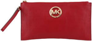 Michael Kors Red Clutch