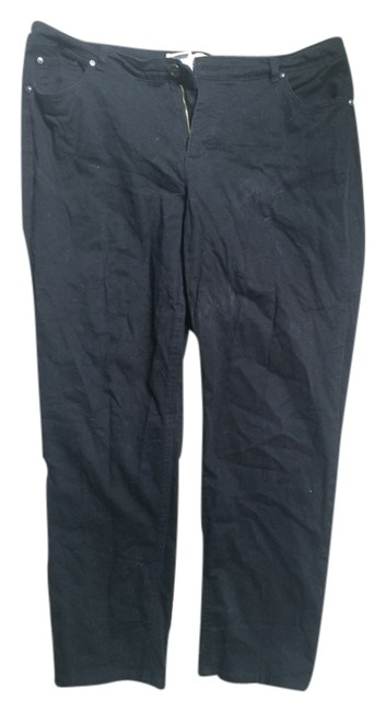 Just My Size Plus Boot Cut Jeans-Dark Rinse