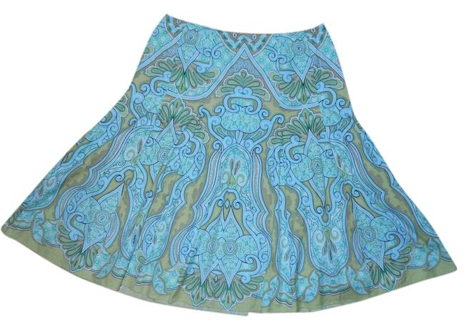 Preload https://item4.tradesy.com/images/talbots-turquoise-and-green-print-cotton-knee-length-skirt-size-8-m-29-30-3905743-0-0.jpg?width=400&height=650