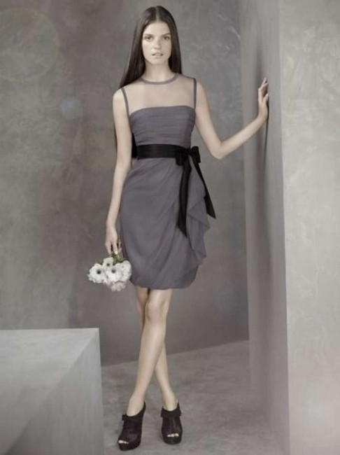 Item - Gray Vw360037 Formal Bridesmaid/Mob Dress Size 2 (XS)