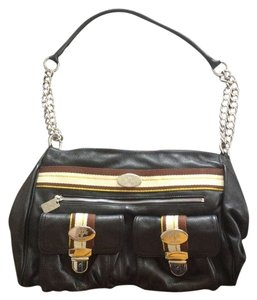 Christine Price Treated Leather Shoulder Bag