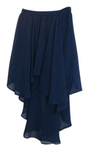 Forever 21 Skirt Navy Blue