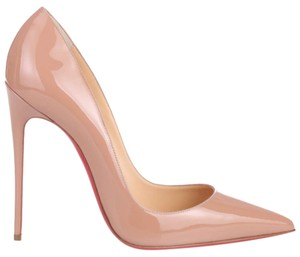 Christian Louboutin So Kate Beige Pumps
