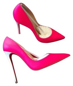 Christian Louboutin Fluo Pink Pumps