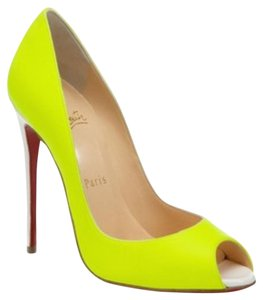 Christian Louboutin Youpi Yellow Pumps