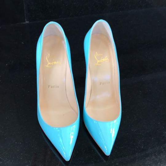 Christian Louboutin Pigalle Follies Opaline Blue Pumps Image 2