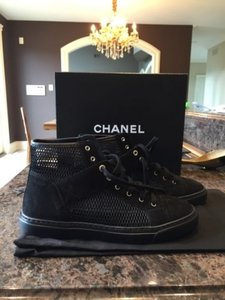 Chanel Classic Mesh Black Boots
