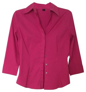 Express Button Down Shirt Pink