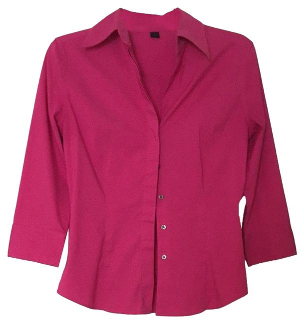 Preload https://item1.tradesy.com/images/express-pink-button-down-top-size-4-s-3907285-0-0.jpg?width=400&height=650