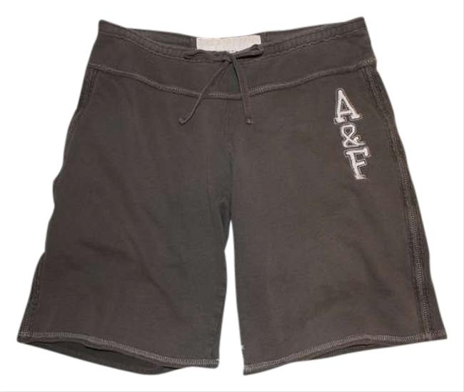 Abercrombie & Fitch & Af Hollister Drawstring Moose Shorts Brown