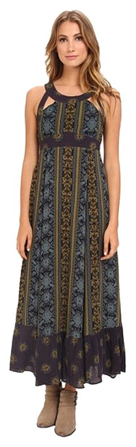 Emerald combo Maxi Dress by Free People