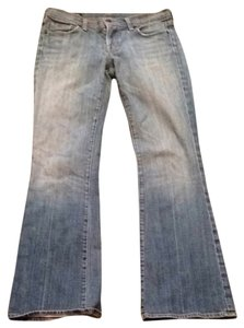 Citizens of Humanity Low Waist Flair Ingrid #002 Flare Leg Jeans-Medium Wash