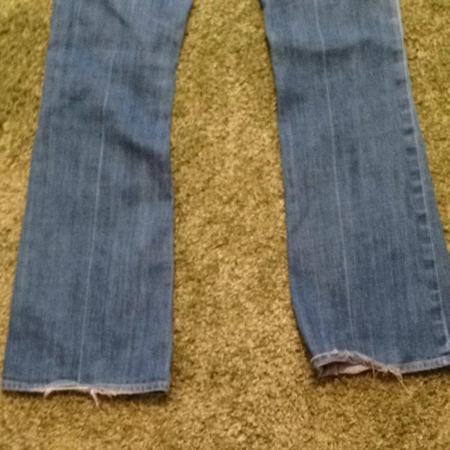 Citizens of Humanity Low Waist Flair Ingrid #002 Stretch Flare Leg Jeans-Medium Wash