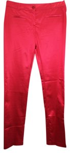 D. EXTERIOR Made In Italy Stretch Satin Skinny 44 Pants