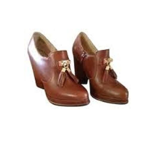 Seychelles Tassels Platform Chunky Oxford Brown Boots
