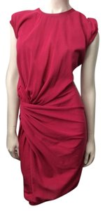 Lanvin short dress Fuchsia Knotted Pink on Tradesy