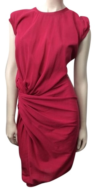 Lanvin short dress Fuchsia Knotted Pink on Tradesy Image 0