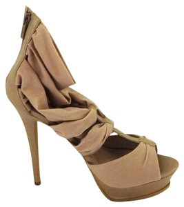 Colin Stuart High-heel Beige Pumps