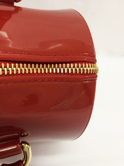 Furla Candy Red Cookie Pvc Satchel in Mini Cabernet Image 5