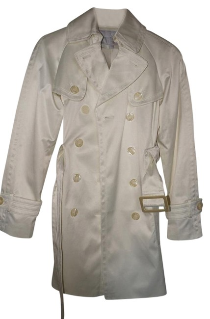 Preload https://item3.tradesy.com/images/jessica-simpson-white-trench-coat-size-0-xs-3909787-0-1.jpg?width=400&height=650