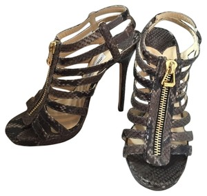 Jimmy Choo Snakeskin Sandals