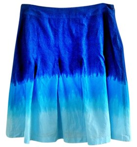 Style & Co Skirt blue ombre