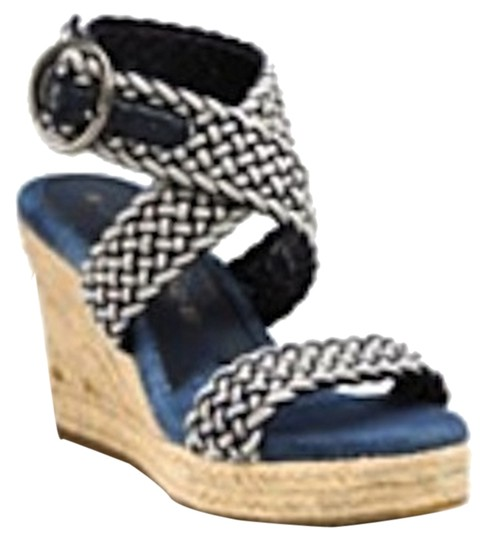 Lucky Brand Blue and white Sandals