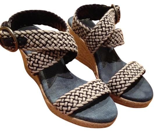 Lucky Brand Blue and white Sandals Image 1