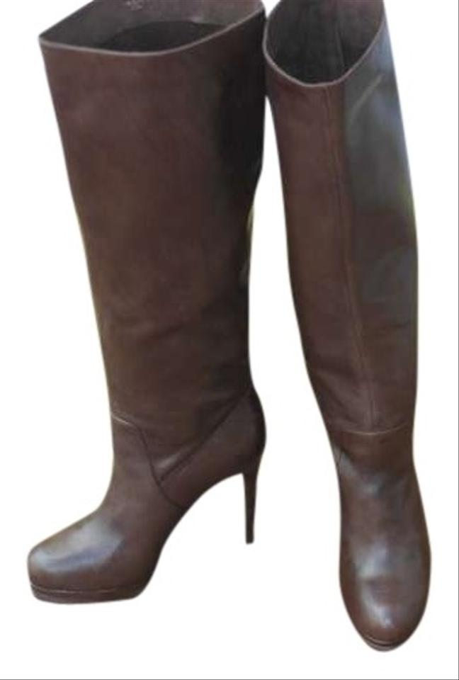Max Studio Chestnut Brown Box Boutique New with Box Brown Boots/Booties c4bca6