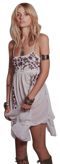 Preload https://img-static.tradesy.com/item/3910513/free-people-white-burgundy-nwot-embroidered-baby-doll-slip-short-casual-dress-size-2-xs-0-0-650-650.jpg