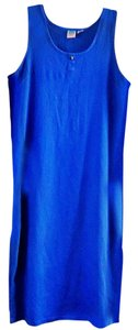 blue Maxi Dress by Wek Cotton
