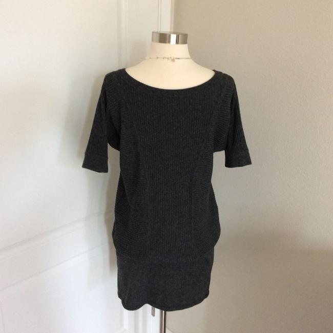 Banana Republic short dress Dark Gray on Tradesy