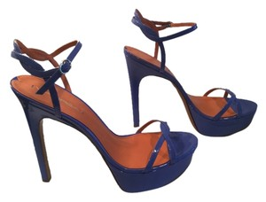 Via Spiga Blue Sandals
