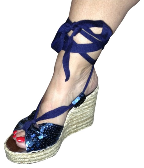 Marc by Marc Jacobs Blue Sandals