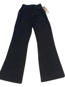 Rewash Wide Leg Pants Navy